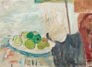 Jan Cybis, Martwa natura z zielonymi owocami, 1949