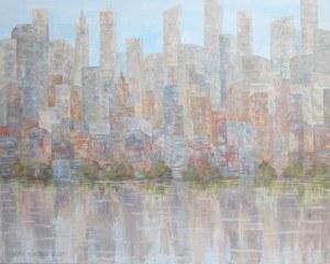 Danuta Niklewicz - Impresja, z cyklu Manhattan, 2018