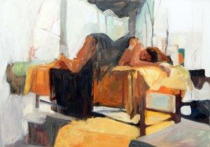 Gabriela Prokop - Śpiąca, 2017