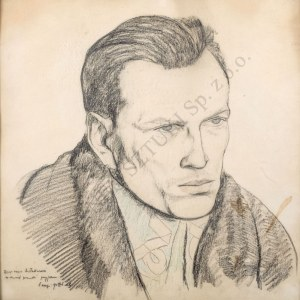 Leopold Gottlieb (1879-1934), Portret Józefa Andrzeja Teslara