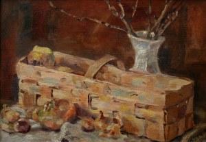 Stefan Szmaj (1893-1970), Martwa natura z kobiałką(1943)