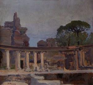 Iwan Trusz (1869-1940), Willa Hadriana w Tivoli