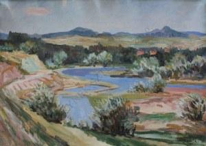 Jan Wojnarski (1879-1937), Widok na Dunajec