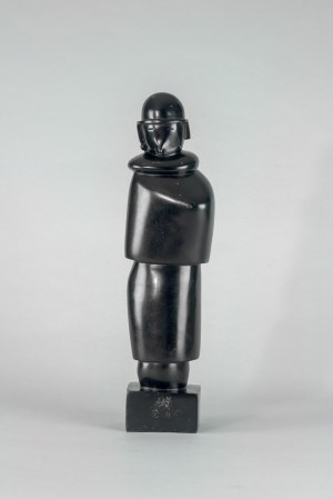*Jean Lambert-Rucki (1888 Kraków – 1967 Paryż) - Femme Au Manchchon (Kobieta w mufce)