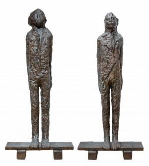 *Magdalena Abakanowicz (1930 Falenty – 2017 Warszawa) - Piotr i Paweł, 2009