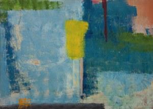Bartosz Michał Hoppe Sadowski, Yellow with blue, 2015