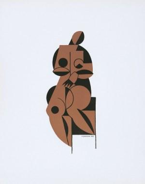 Henryk Berlewi (1894–1967), Akt, 1922