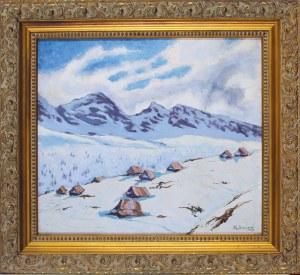 Franciszek Jaźwiecki (1900–1946), Hala Gąsienicowa w zimie, 1939