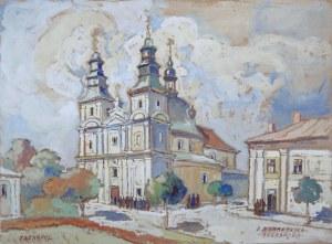 Irena Nowakowska-Acedańska (1909–1983), Kościół dominikanów w Tarnopolu, przed 1951*