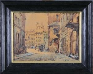 Władysław Chmieliński (Stachowicz) (1911–1979), Rynek Starego Miasta w Warszawie, przed 1939*