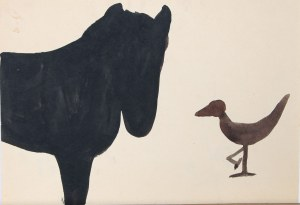 Barbara Jonscher (1926–1986), Koń i kaczka*