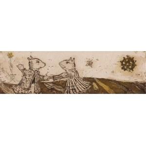 Edyta Purzycka, Słońce, tańce i motylek, 2015