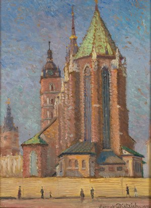 Henryk Dietrich (1889-1948), Kościól Mariacki w Krakowie, 1934 r.
