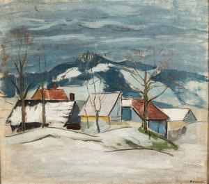 Stanisław Borysowski (1901 Lwów - 1988 Toruń), Pejzaz zimowy