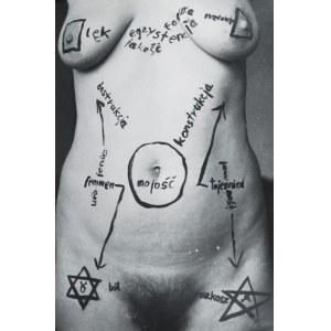 Jerzy TRUSZKOWSKI (ur. 1961), Abstrakcja na ciele, 1984