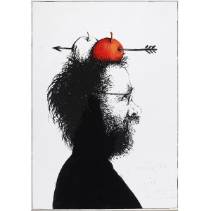 Eugeniusz GET-STANKIEWICZ (1942-2011), Autoportret jako Wilhelm Tell, ok. 1985
