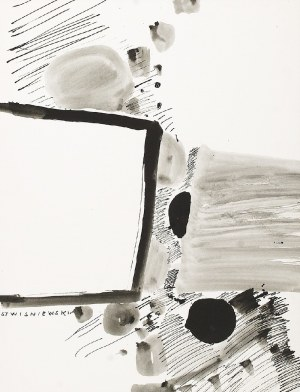 Stanisław WIŚNIEWSKI (1936-2016), Kompozycja abstrakcyjna
