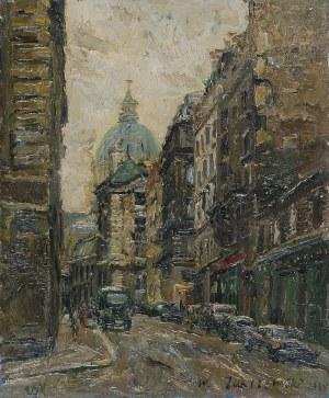 Włodzimierz ZAKRZEWSKI (1916-1992), Paryż - Rue Cujas, 1964
