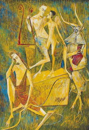 Iwan KULIK (ur. 1959), Król Roger - Ilustracja do opery Karola Szymanowskiego, 2011