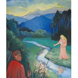 Eugeniusz WANIEK (1906-2009), Dante i Matylda, 1993