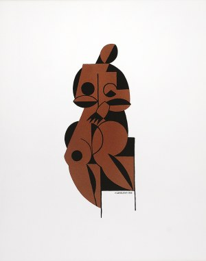 Henryk BERLEWI (1894-1967), Akt