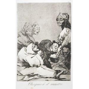 Francisco GOYA Y LUCIENTES (1746-1828), Podarunek dla mistrza, Obsequnio a el Maestro;
