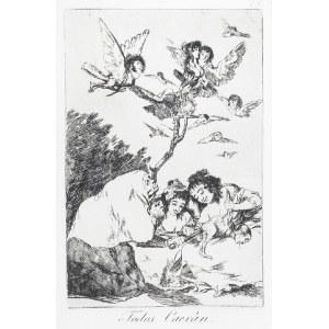 Francisco GOYA Y LUCIENTES (1746-1828), Wszyscy kiedyś upadną, Todos Caeran