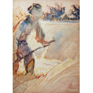Apoloniusz KĘDZIERSKI (1861-1939), Żniwiarz, ok. 1916