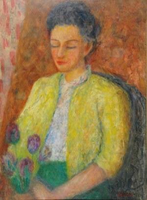 Eugeniusz EIBISCH (1895-1987), Portret żony artysty