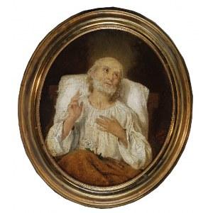 Karol MILLER (1835-1920), Postać świętego, 1866
