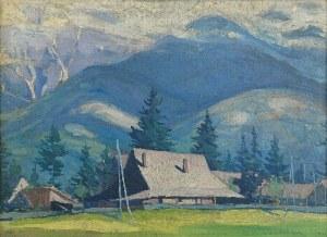 Ludwik de LAVEAUX (1891-1969), Pejzaż górski, 1921