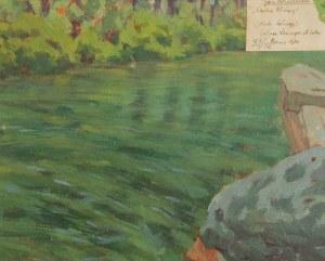Jan BOHUSZEWICZ (1878-1935), Dzikie chmury, 1920