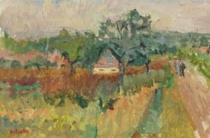 Zygmunt SCHRETER (1886-1977), Pejzaż