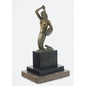 Wytwórnia Artystyczna Grawersko-Zdobnicza WŁADYSŁAW MIECZNIK (1903-1989), Syrenka Warszawska