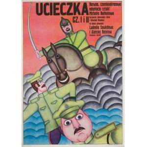 Andrzej Krajewski (ur. 1933 r.), Plakat filmowy Ucieczka, 1971