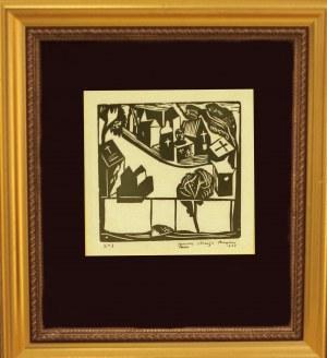 Juliusz Maria Brzeski (1907 – 1957) Apollinaire-wspomnienie (Cmentarz), 1929