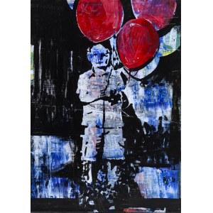 Bartek Pszon, Chłopiec z balonem, 2018