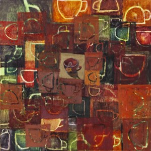 Joanna Majkut, Crowd of cups, 2004