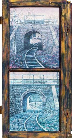Jan Bembenista, Dwa oblicza starego wiaduktu (dyptyk), 2008