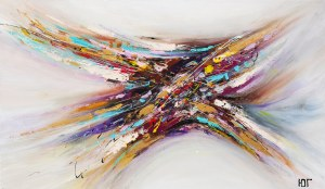 Yulia Gurzhiyants, Skrzyżowanie kolorów, 2019