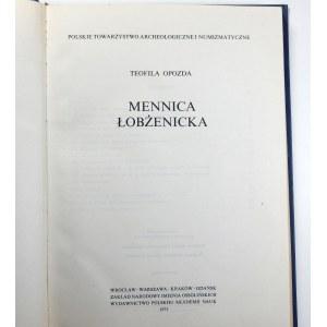 Teofila Opozda, Mennica łobżenicka