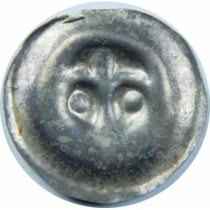 Pomorze Gdańskie?, Świętopełk II Wielki 1220-1266?, Brakteat - Lilia z kulami po bokach