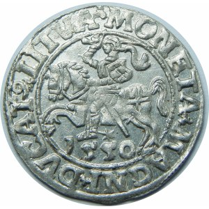 Zygmunt II August, Półgrosz Wilno 1550