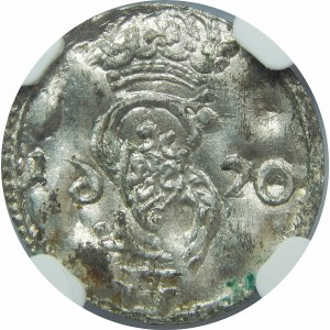Zygmunt III Waza, Dwudenar Wilno 1620 – 6 w lustrzanym odbiciu