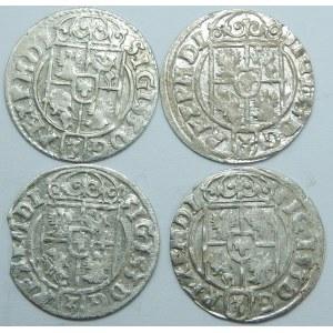 Zygmunt III Waza, Półtorak Bydgoszcz 1623 – zestaw (szt.4)
