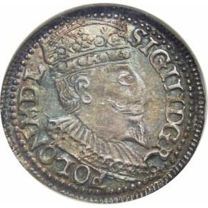 Zygmunt III Waza, Trojak Olkusz 1596