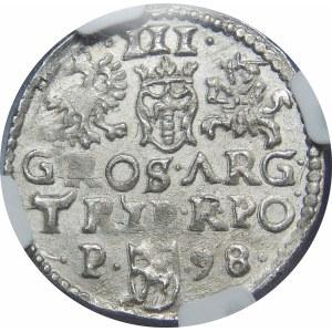 Zygmunt III Waza, Trojak Poznań 1598