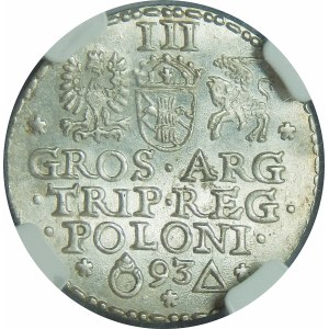 Zygmunt III Waza, Trojak Malbork 1593