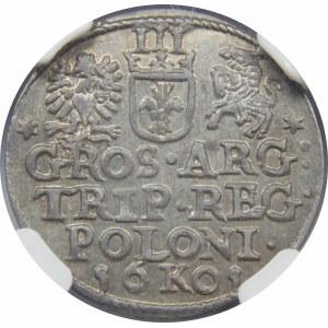 Zygmunt III Waza, Trojak Kraków 1601