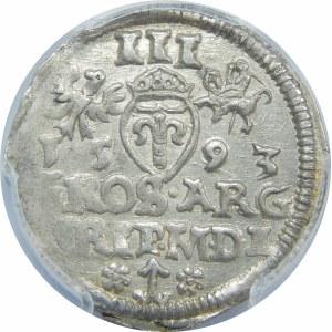Zygmunt III Waza, Trojak Wilno 1593